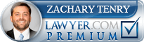 Zachary Tenry  Lawyer Badge
