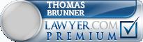 Thomas J. Brunner  Lawyer Badge