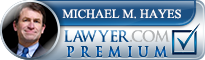Michael M. Hayes  Lawyer Badge