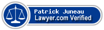Patrick J. Juneau  Lawyer Badge