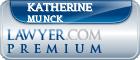 Katherine E. Munck  Lawyer Badge