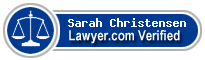 Sarah J. Christensen  Lawyer Badge