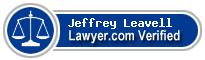 Jeffrey L. Leavell  Lawyer Badge