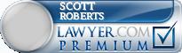 Scott B. Roberts  Lawyer Badge