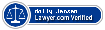 Molly Falk Jansen  Lawyer Badge