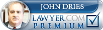 John D. Dries  Lawyer Badge