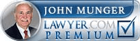 John F Munger  Lawyer Badge