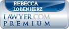 Rebecca Jean Lobenherz  Lawyer Badge