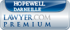 Hopewell H Darneille  Lawyer Badge