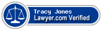 Tracy J. Jones  Lawyer Badge