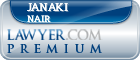 Janaki Hannah Nair  Lawyer Badge
