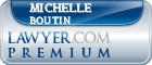 Michelle L. Boutin  Lawyer Badge