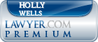 Holly C. Wells  Lawyer Badge