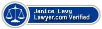 Janice G. Levy  Lawyer Badge