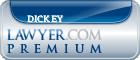Leigh Dickey  Lawyer Badge