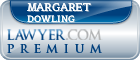 Margaret A. Dowling  Lawyer Badge