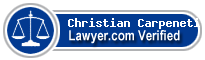 Christian W. Carpeneti  Lawyer Badge