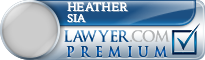 Heather A. Sia  Lawyer Badge