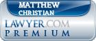 Matthew C. Christian  Lawyer Badge