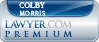 Colby R. Morris  Lawyer Badge