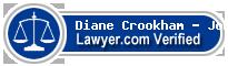 Diane G. Crookham - Johnson  Lawyer Badge