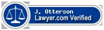 J. Stefan Otterson  Lawyer Badge