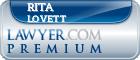 Rita H. Lovett  Lawyer Badge