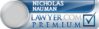 Nicholas Patrick Nauman  Lawyer Badge