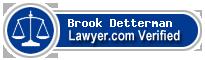 Brook Catherine Detterman  Lawyer Badge