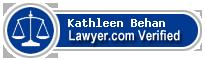 Kathleen Behan  Lawyer Badge