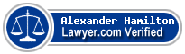Alexander D Hamilton  Lawyer Badge