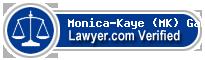 Monica-Kaye Gamble  Lawyer Badge