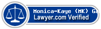 Monica-Kaye (MK) Gamble  Lawyer Badge
