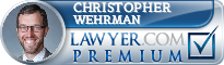 Christopher David Wehrman  Lawyer Badge