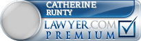 Catherine Louise Runty  Lawyer Badge