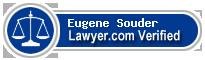 Eugene L Souder  Lawyer Badge