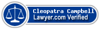 Cleopatra Campbell  Lawyer Badge