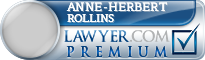Anne-Herbert Rollins  Lawyer Badge