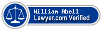 William F Abell  Lawyer Badge