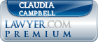 Claudia A Campbell  Lawyer Badge