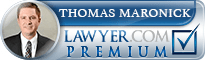 Thomas Joseph Maronick  Lawyer Badge