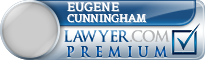 Eugene W Cunningham  Lawyer Badge