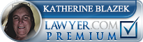 Katherine Blazek  Lawyer Badge