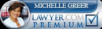 Michelle Antoinette Greer  Lawyer Badge
