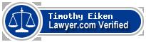 Timothy Eiken  Lawyer Badge