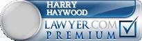 Harry L. Haywood  Lawyer Badge