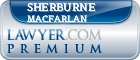Sherburne M Macfarlan  Lawyer Badge