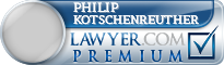 Philip J Kotschenreuther  Lawyer Badge