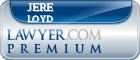 Jere L. Loyd  Lawyer Badge