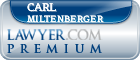 Carl Thomas Miltenberger  Lawyer Badge